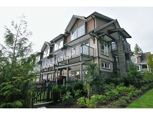 "Main Photo: 108 1480 SOUTHVIEW Street in Coquitlam: Burke Mountain Townhouse for sale in ""CEDAR CREEK"" : MLS® # V1021704"