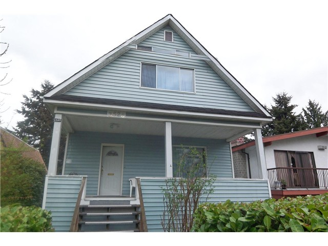 Main Photo: 3528 WELWYN ST in Vancouver: Victoria VE House for sale (Vancouver East)  : MLS® # V1026520
