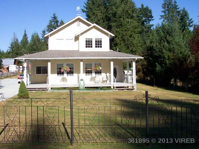 Main Photo: 6373 FAYETTE ROAD in PORT ALBERNI: Z6 Alberni Valley House for sale (Zone 6 - Port Alberni)  : MLS®# 361895