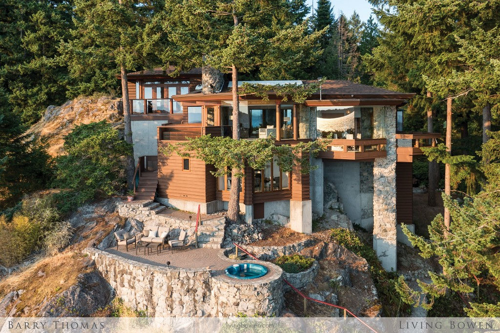 Main Photo: 1702 Adams Road: Bowen Island House for sale : MLS® # V1133377
