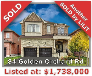 Main Photo: 84 Golden Orchard Rd in Vaughan: Patterson Freehold for sale