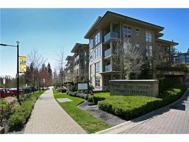 "Main Photo: 502 9339 UNIVERSITY Crescent in Burnaby: Simon Fraser Univer. Condo for sale in ""HARMONY"" (Burnaby North)  : MLS(r) # V950108"