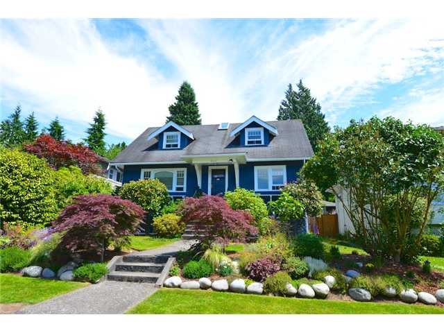 "Main Photo: 6612 BEECHWOOD Street in Vancouver: S.W. Marine House for sale in ""Kerrisdale"" (Vancouver West)  : MLS® # V1014628"