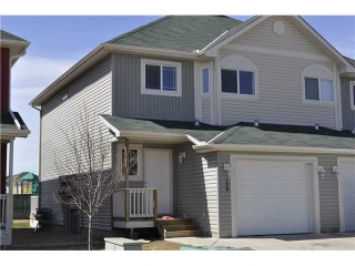 Main Photo: 159 BAYSIDE Point SW: Airdrie Townhouse for sale : MLS(r) # C3566247