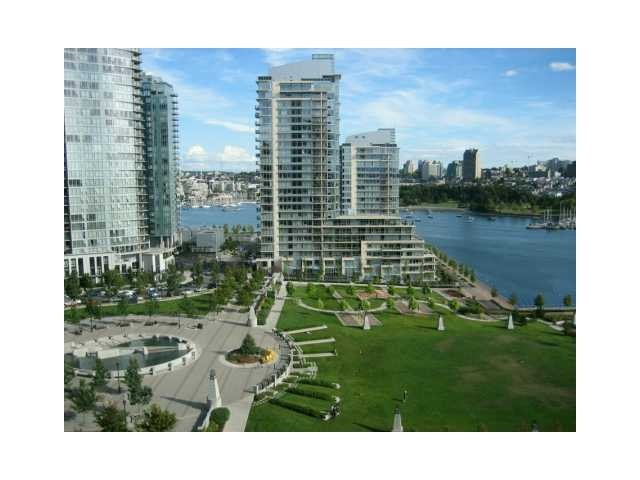 Main Photo: 1501 638 BEACH Crescent in VANCOUVER: Yaletown Condo for sale (Vancouver West)  : MLS® # V1074248