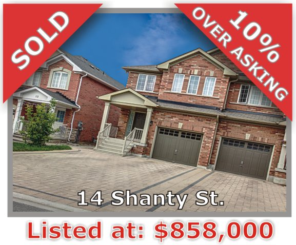 Main Photo: 14 Shanty Street in Vaughan: Patterson Freehold for sale