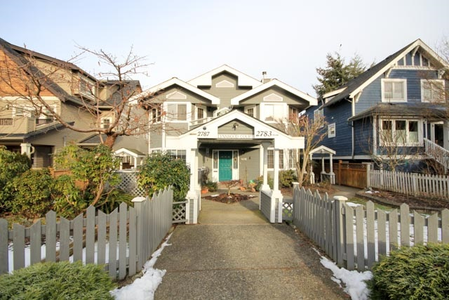 Main Photo: 2787 W 5TH AVENUE in Vancouver: Kitsilano Townhouse for sale (Vancouver West)  : MLS®# R2131495