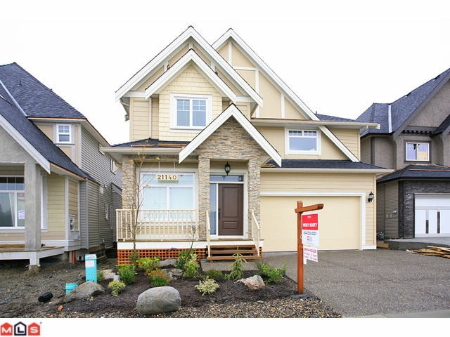 Main Photo: 21140 77B AV in : Willoughby Heights House for sale : MLS® # F1128430