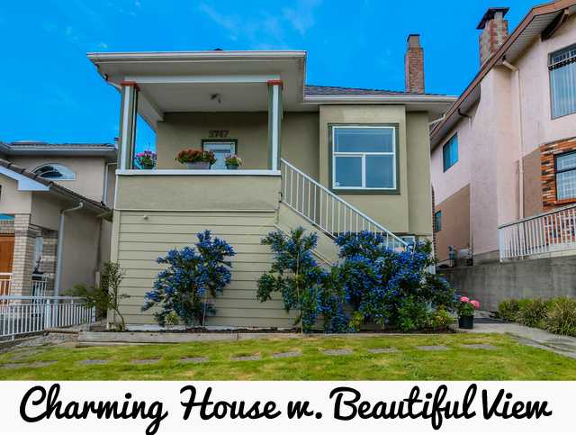 Main Photo: 3747 Frances St in Burnaby: Willingdon Heights House for sale (Burnaby North)  : MLS® # V1125164