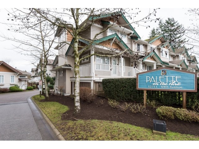 Main Photo: 105 12711 64 AVENUE in Surrey: West Newton Townhouse for sale : MLS®# R2025833