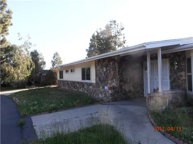 Main Photo: EL CAJON House for sale : 4 bedrooms : 12032 Fuerte Drive