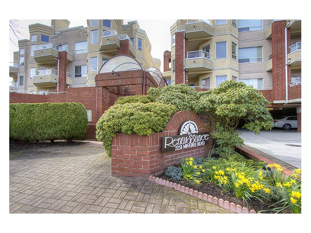 "Main Photo: 120 7251 MINORU Boulevard in Richmond: Brighouse South Condo for sale in ""THE RENAISSANCE"" : MLS® # V1025238"