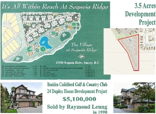 Main Photo: 15350 sequoia dr in surrey: Home for sale