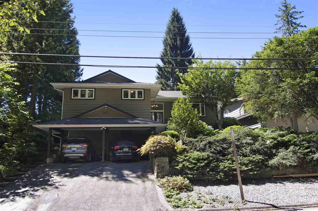 Main Photo: 3627 PRINCESS AVENUE in North Vancouver: Princess Park House for sale : MLS®# R2096519
