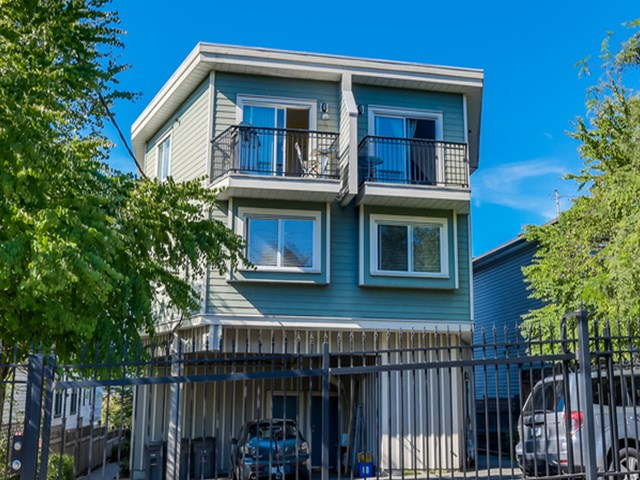 Main Photo: 2038 TRIUMPH ST in Vancouver: Hastings Condo for sale (Vancouver East)  : MLS® # V1138361