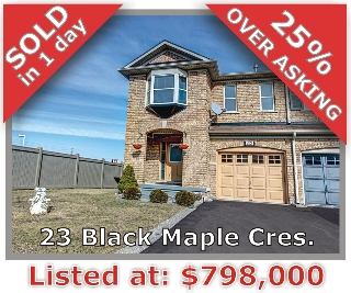 Main Photo: 23 Black Maple Cres in Vaughan: Patterson Freehold for sale