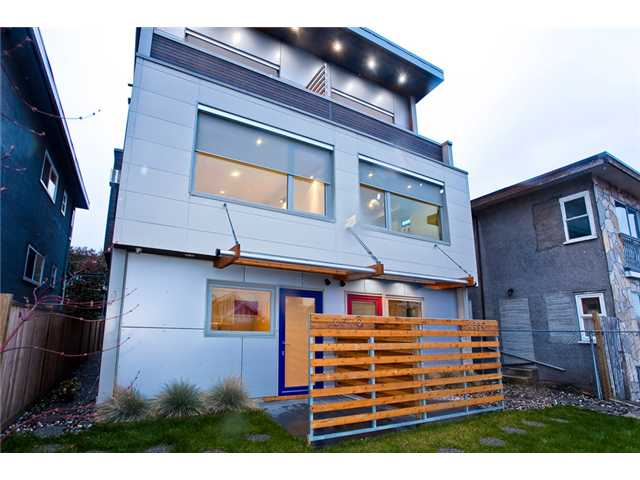 Main Photo: 2370 CLARK Drive in Vancouver: Mount Pleasant VE House 1/2 Duplex for sale (Vancouver East)  : MLS®# V939305