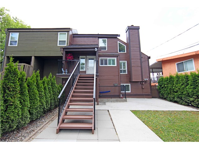 Main Photo: 5611 CLAUDE AV in Burnaby: Burnaby Lake House Duplex for sale (Burnaby South)  : MLS(r) # V1068608