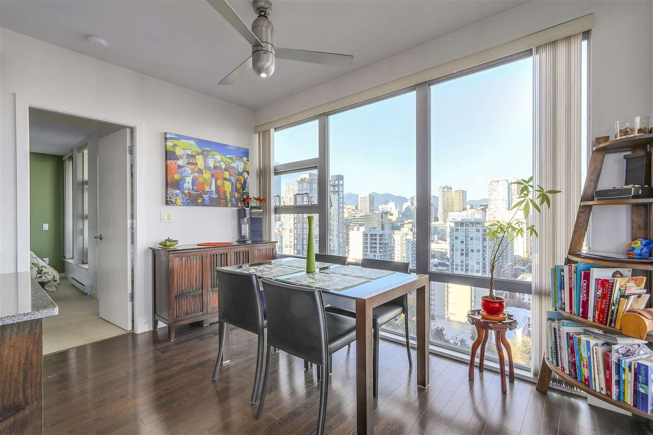 Photo 5: 2402 1225 RICHARDS STREET in Vancouver: Downtown VW Condo for sale (Vancouver West)  : MLS® # R2115954
