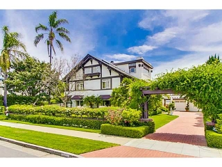 Main Photo: CORONADO VILLAGE House for sale : 6 bedrooms : 611 A in Coronado
