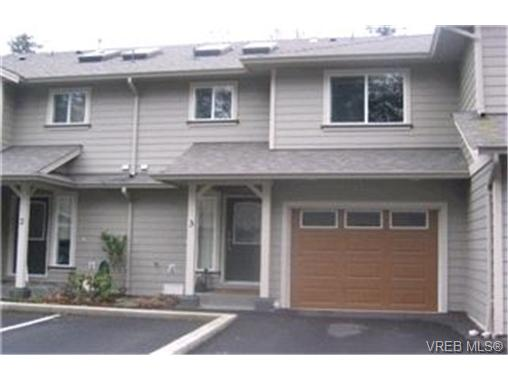 Main Photo: 3 199 Atkins Road in VICTORIA: VR Six Mile Townhouse for sale (View Royal)  : MLS® # 225039