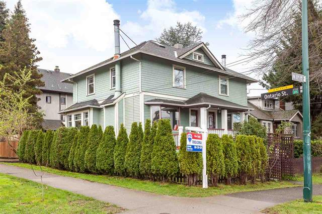 Main Photo: 4 W 11TH AVENUE in Vancouver: Mount Pleasant VW House 1/2 Duplex for sale (Vancouver East)  : MLS® # R2045663