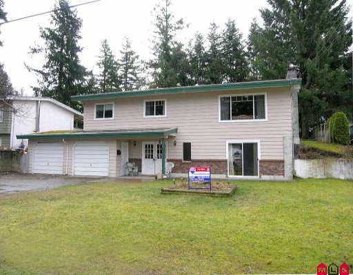 Photo 1: 32236 GRANITE AV in Abbotsford: Abbotsford West House for sale : MLS® # F2605244