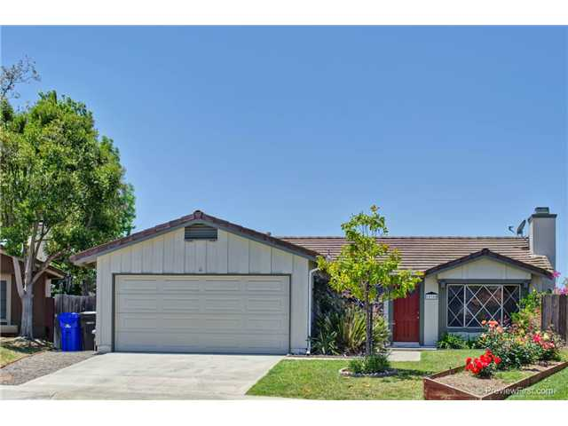 Main Photo: MIRA MESA House for sale : 3 bedrooms : 10360 CHEVIOT Court in San Diego
