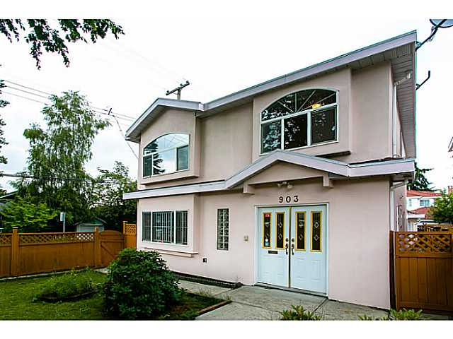 Main Photo: 903 E 31ST Avenue in Vancouver: Fraser VE House for sale (Vancouver East)  : MLS® # V1014654