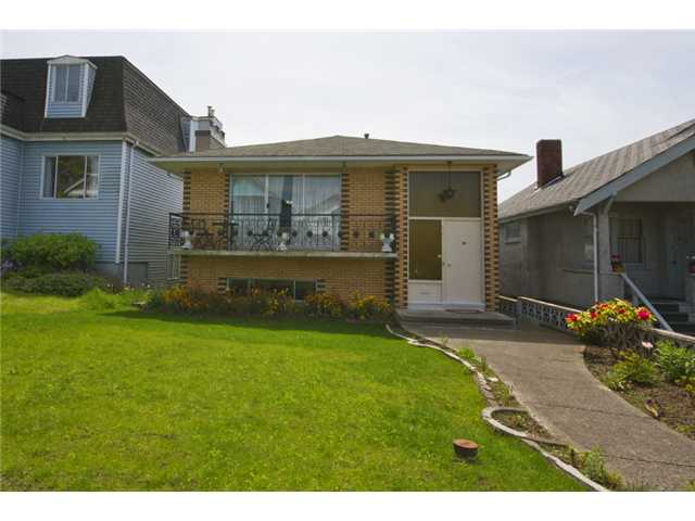 Main Photo: 3656 FRANKLIN ST in Vancouver: Hastings East House for sale (Vancouver East)  : MLS® # V1066629