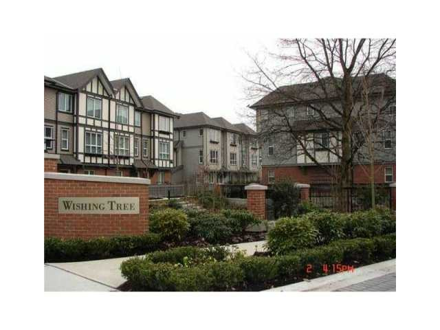 Main Photo: # 82 9566 TOMICKI AV in Richmond: West Cambie Townhouse for sale : MLS® # V1101383