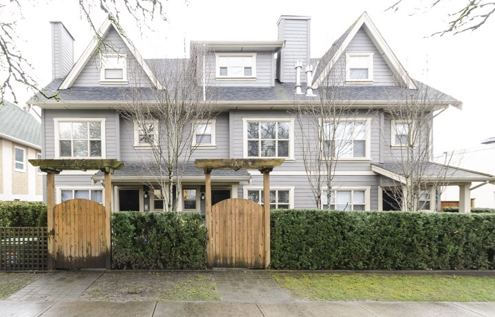 Photo 19: 4176 WELWYN STREET in Vancouver: Victoria VE Townhouse for sale (Vancouver East)  : MLS(r) # R2041102
