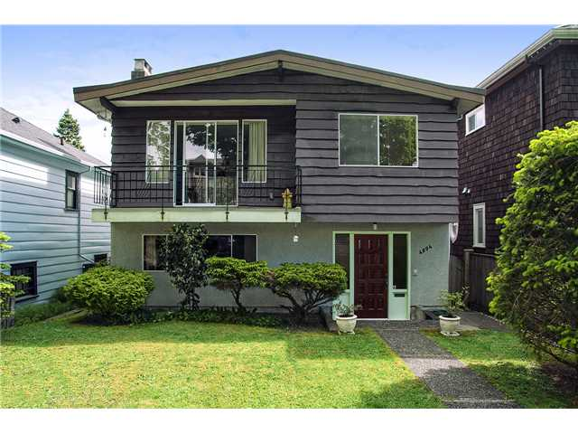 Main Photo: 4094 W 19TH AV in Vancouver: Dunbar House for sale (Vancouver West)  : MLS(r) # V1065259