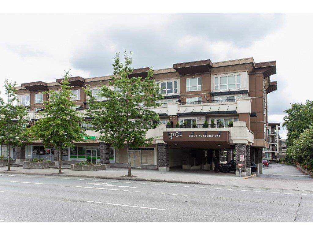 Main Photo: 331 9655 KING GEORGE BOULEVARD in Surrey: Whalley Condo for sale (North Surrey)  : MLS® # R2083002