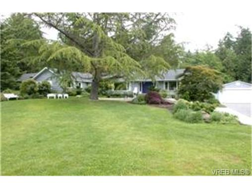 Main Photo: WEST SAANICH LUXURY REAL ESTATE = BEAVER LAKE LUXURY HOME Sold With Ann Watley.