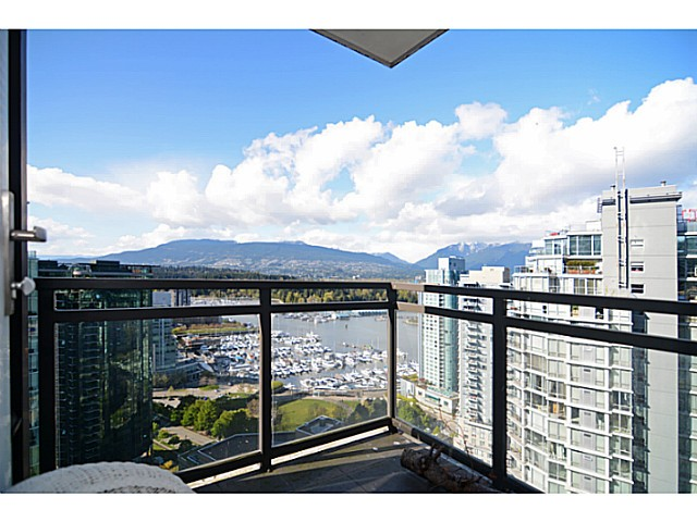 Main Photo: # 2504 1211 MELVILLE ST in Vancouver: Coal Harbour Condo for sale (Vancouver West)  : MLS®# V1118305