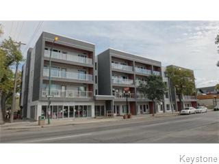 Main Photo: 212 155 Sherbrook Street in Winnipeg: Wolseley Apartment for sale (West Winnipeg)  : MLS® # 1513861