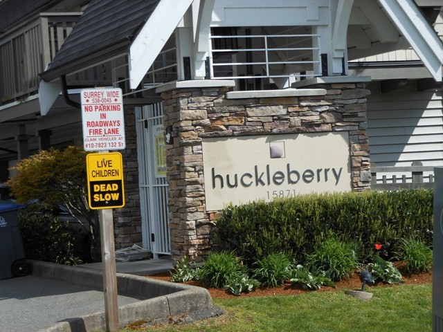 "Main Photo: 63 15871 85TH Avenue in Surrey: Fleetwood Tynehead Townhouse for sale in ""Huckleberry"" : MLS® # F1308589"