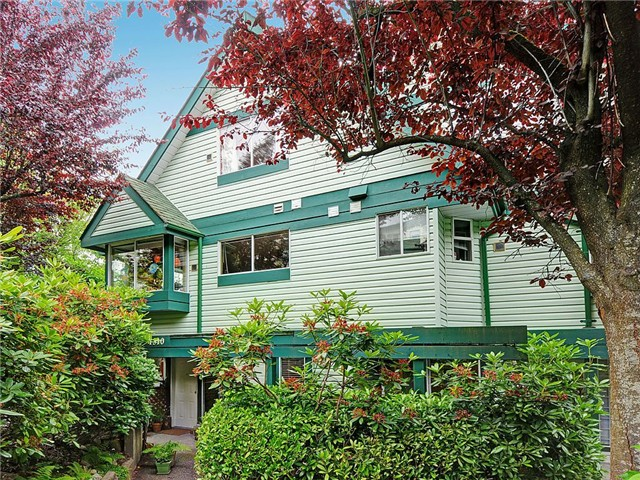 Main Photo: 4312 SOPHIA Street in Vancouver: Main Townhouse for sale (Vancouver East)  : MLS® # V1012378