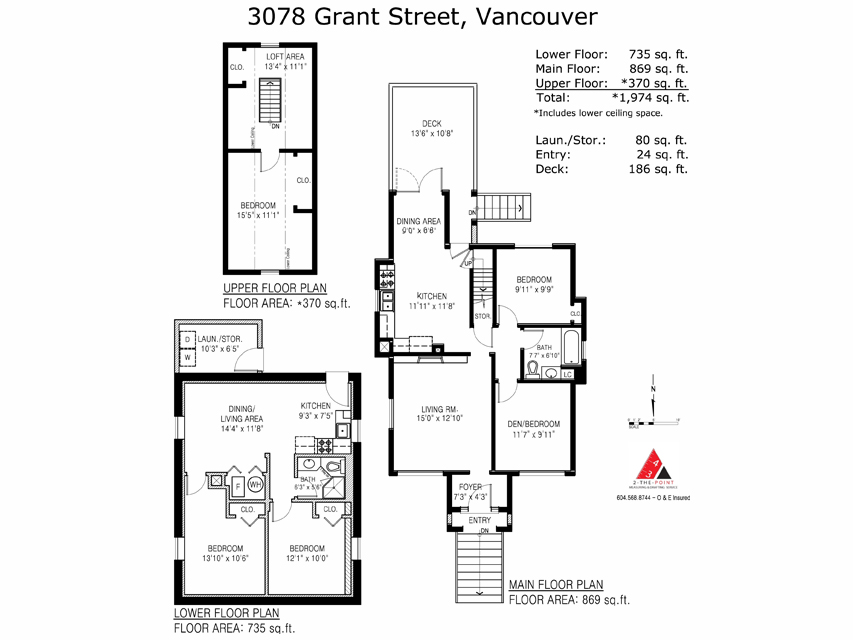 Photo 17: 3078 GRANT ST in Vancouver: Renfrew VE House for sale (Vancouver East)  : MLS(r) # V1019044