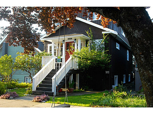 Main Photo: 2290 E 4 Avenue in Vancouver: Grandview VE House for sale (Vancouver East)  : MLS® # v1117517