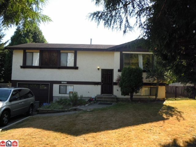 "Main Photo: 19360 62A Avenue in Surrey: Clayton House for sale in ""Bakerview"" (Cloverdale)  : MLS®# F1222241"