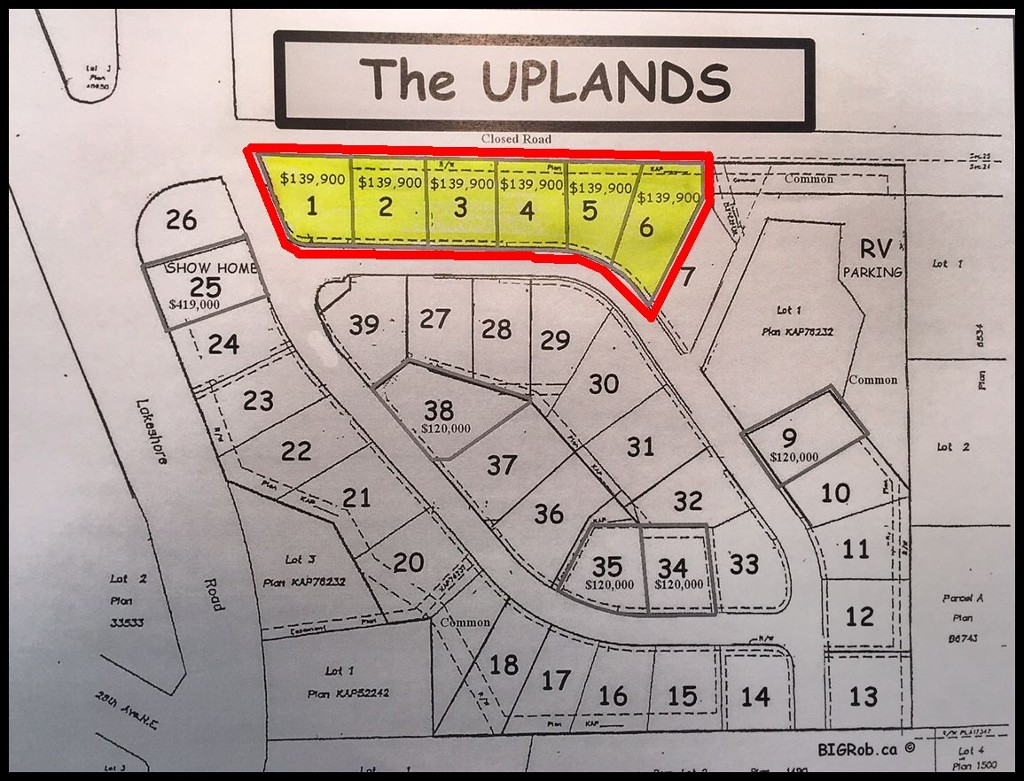 Main Photo: PL1-6 2990 Northeast 20 Street in Salmon Arm: Uplands Vacant Land for sale : MLS(r) # 10098390