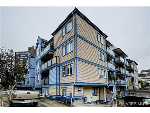 Main Photo: 311 827 North Park Street in VICTORIA: Vi Central Park Condo Apartment for sale (Victoria)  : MLS® # 340570