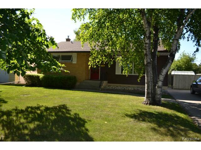 Main Photo: 67 Wordsworth Way in WINNIPEG: Westwood / Crestview Residential for sale (West Winnipeg)  : MLS® # 1319071