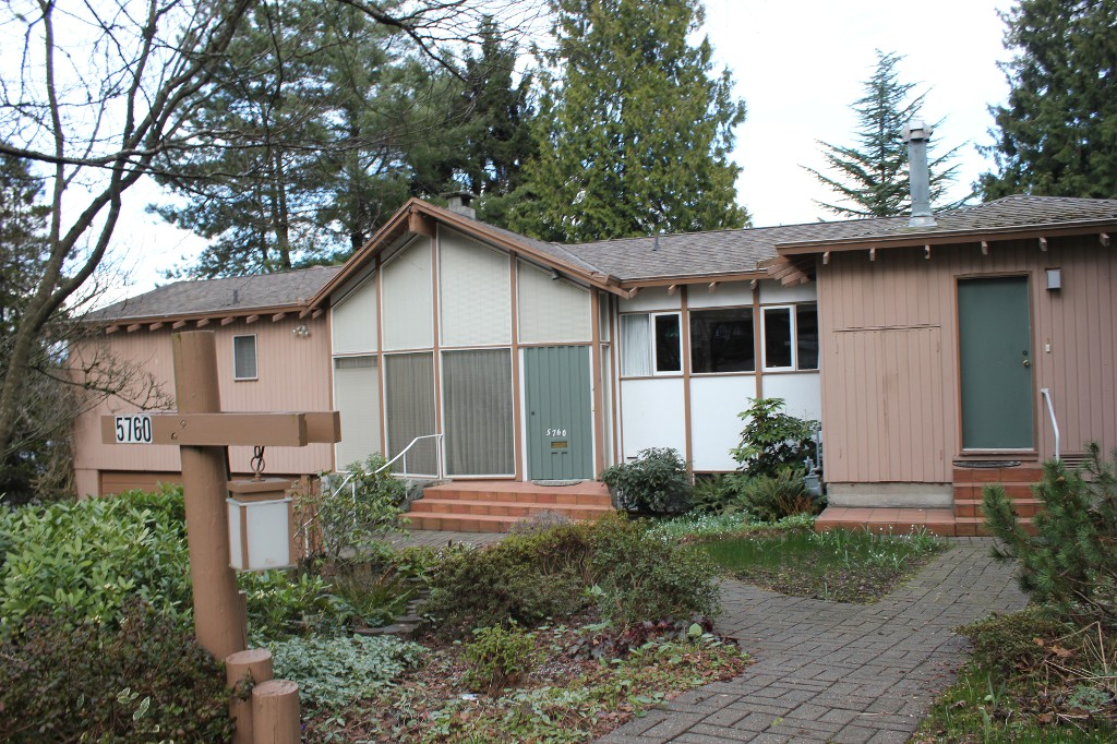 Main Photo: 5760 Malvern Avenue in Burnaby: Deer Lake House for sale (Burnaby South)  : MLS® # V1106451