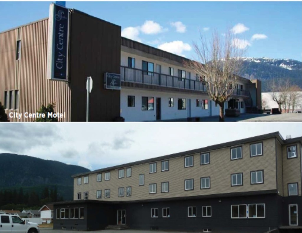 Main Photo: City Centre Motel: Multi-Family Commercial for sale (Kitimat, BC)