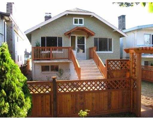 Main Photo: 2778 E 6TH AV in Vancouver: Renfrew VE House for sale (Vancouver East)  : MLS® # V556142
