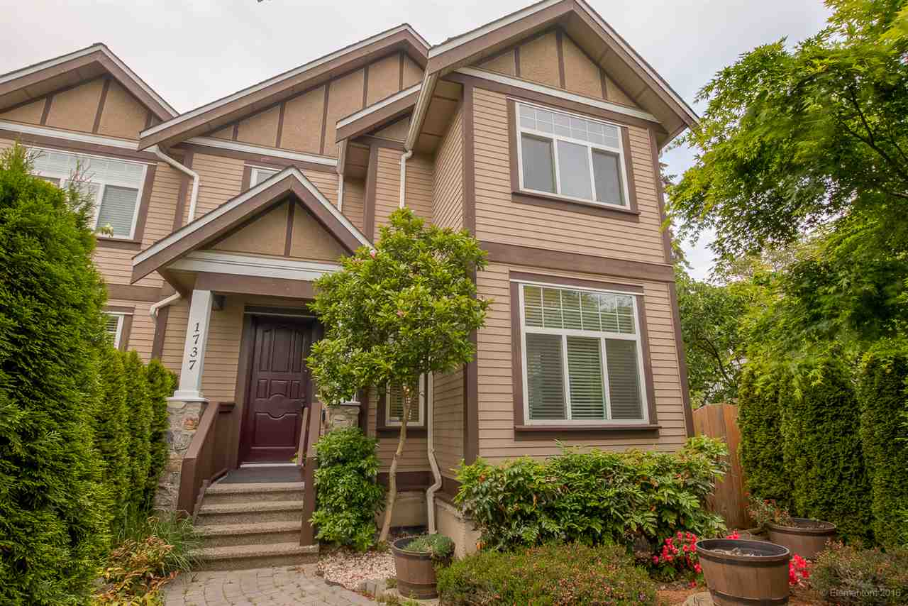 Main Photo: 1737 N GRANDVIEW HIGHWAY in Vancouver: Grandview VE House 1/2 Duplex for sale (Vancouver East)  : MLS® # R2066457