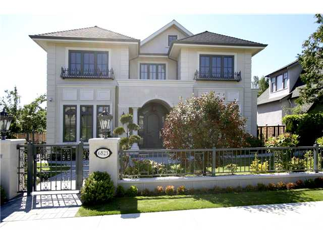 Main Photo: 6823 CYPRESS Street in Vancouver: Kerrisdale House for sale (Vancouver West)  : MLS® # V1010238